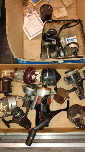 vintage fishing reels $20 takes all for Sale in Centralia, WA