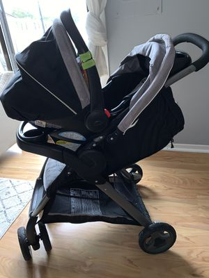 Graco ClickConnect Travel System (Stroller & Car Seat) for Sale in Herndon, VA