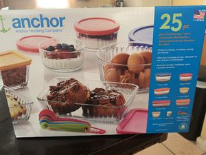 Anchor Glass Food Storage for Sale in Whittier, CA