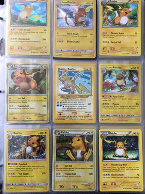 Pokemon Card: Raichu Collection for Sale in Fresno, CA