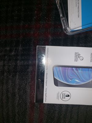 iPhone case & screen x max for Sale in Port St. Lucie, FL