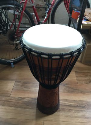 Toca Djembe Origins Tribal Mask model. for Sale in Alexandria, VA