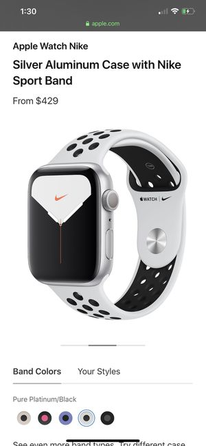 Iwatch Silver aluminum case for Sale in Los Angeles, CA