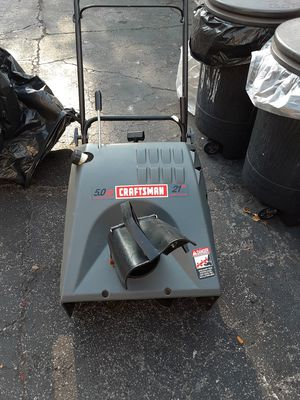 GAS SNOW BLOWER WITH ELECTRIC AND MANUAL STARTER $80.00 for Sale in The Bronx, NY