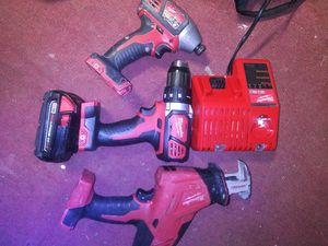 Milwaukee M18 Combo for Sale in Arlington, TX