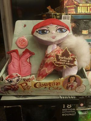 Bratz campfire cats rare doll cat for Sale in Miami, FL