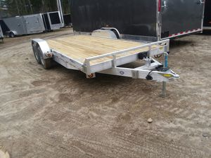 New 20' Aluminum Car Trailer 9990 GVWR for Sale in Enfield, CT