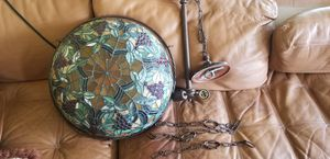 """16"""" Bronze Tiffany Style Inverted Hanging Lamp for Sale in Brandon, FL"""