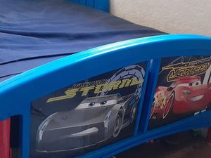 "Cars Toddler bed w/matress $30...multicolor lamp (like new) $25...Element 32"" (not smart) TV $40 for Sale in San Diego, CA"