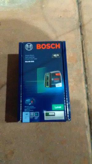 Bosch green beam self leveling cross line laser for Sale in El Cajon, CA