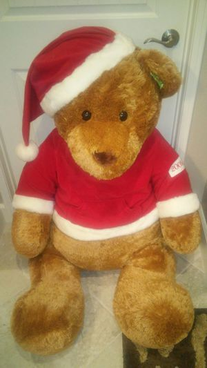 Stuffed Christmas Bear from 2005 for Sale in Hesperia, CA