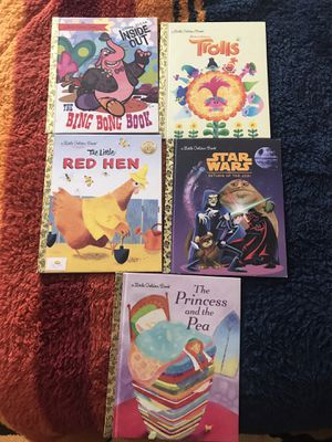 Lot of 5 little golden books. for Sale in Glendale, CA