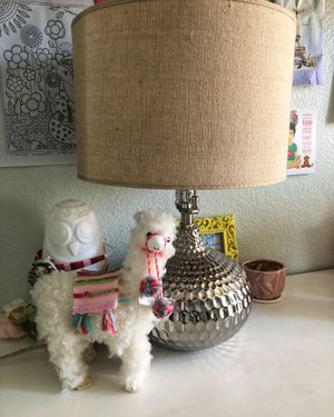 Pier1 Imports Silver Lamp for Sale in Rancho Cucamonga, CA