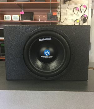 Nemesis audio 12 pro box for Sale in Irving, TX