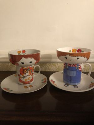 Vintage Children's Stackable Dishes for Sale in Chantilly, VA