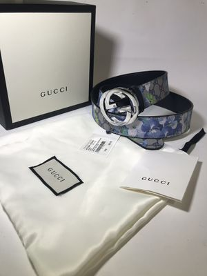 Gucci Blue Floral Blooms Belt **XMAS SALE!! for Sale in Queens, NY
