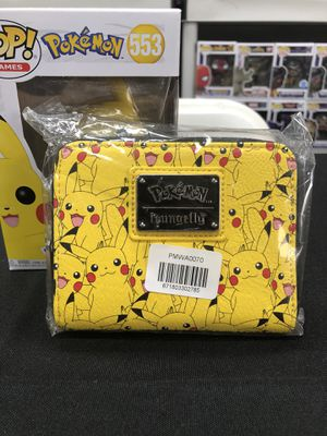 Loungefly Pokemon Pikachu Print Wallet for Sale in Los Angeles, CA