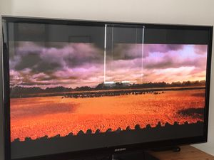Samsung 60 Inch Plasma 3D HDTV 1080P AMAZING PICTURE - LOOKS NEW STILL for Sale in Lakewood, CO