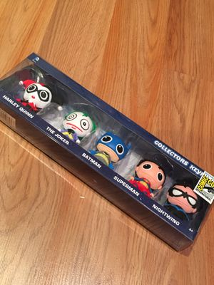DC Collector Keyring Five Pack SDCC 2015 Exclusive for Sale in Falls Church, VA
