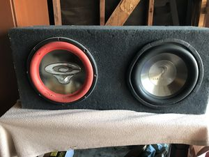Car subwoofers for Sale in Los Angeles, CA