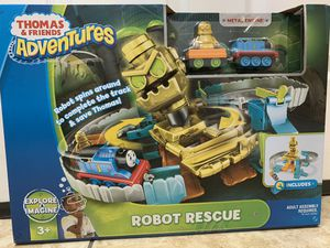 Thomas and friends robot rescue play set for Sale in Kissimmee, FL