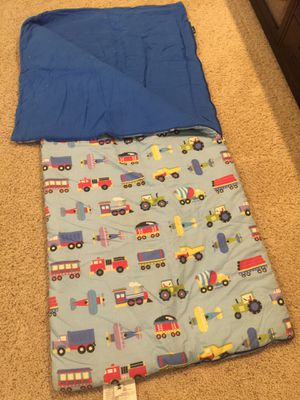 Child's vehicle themed sleeping bag for Sale in Fresno, CA