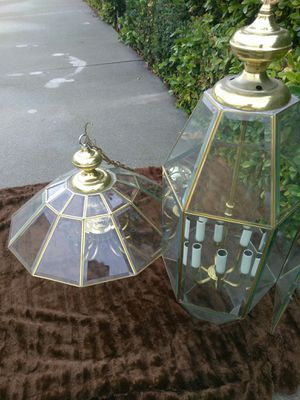 Chandelier and entry fixture for Sale in La Verne, CA