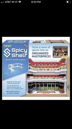 Spicy Shelf Rack and Stackable Organizer for Sale in Corona, CA