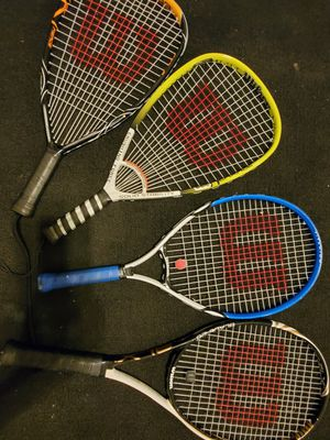 Wilson tennis racket lot for Sale in Richmond, VA