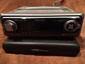 Pioneer Car Stereo with Detachable face/remote for Sale in Falls Church, VA