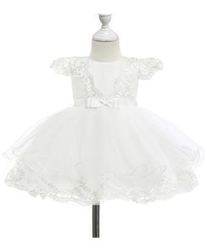 Moon Kitty Baby Girls Embroidery Flower Dress Lace Christening Baptism Gown for Baby Girl for Sale in Las Vegas, NV