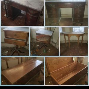 Antique funiture ,tex for price for Sale in Waterbury, CT