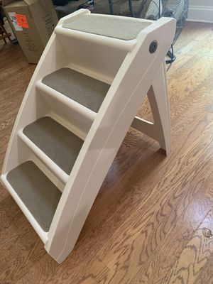 Folding Pet Steps, Foldable Steps for Dogs and Cats, Best for Small to Large Pets for Sale in Villa Rica, GA