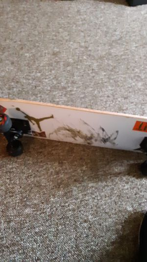 MINI logo complete skateboard with Thunder Trucks bone Swiss Wheels and enjoy bearings for Sale in Pekin, IL