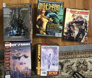 Large Collection of Interzone Magazines for Sale in Cambridge, MA