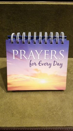 Perpetual Calendar with daily prayers for Sale in Mechanicsburg, PA