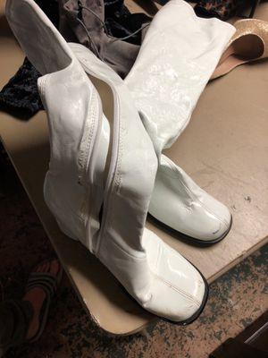 White rain boots size 9 for Sale in Santee, CA