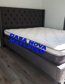 BRAND NEW BED FRAME FULL COMES IN BOX 📢📦MATTRESS INCLUDED 📢😴IN STOCK 📢😴SAME DAY DELIVER OR PICK UP 📢 for Sale in Compton,  CA