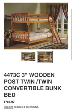 Bunk Bed Set for Sale in Cleveland,  OH