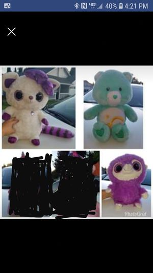 Stuffed animals $5 each big size for Sale in Fairfield, CA