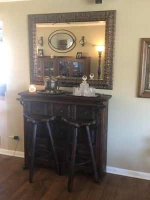 Unique - Hand Crafted Bar and Stools for Sale in HOFFMAN EST, IL