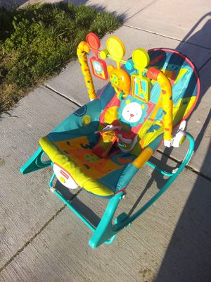 Fisher Price Rocker Bouncer Chair for Sale in Alexandria, VA