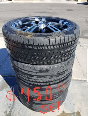 Poison Series RTX ,rims 17 for Sale in Las Vegas, NV