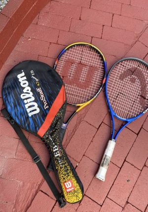 2 tennis rackets for Sale in Lakewood, CA