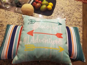 3 Outdoor Pillows for Patio Furniture - Like New for Sale in Lake Forest, CA