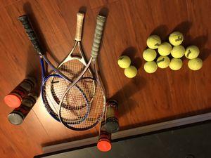 Tennis rackets and balls for Sale in Marietta, GA