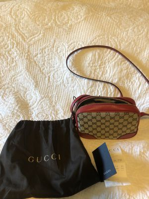 Authentic Gucci Canera Bag with Receipt for Sale in Irvine, CA