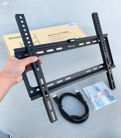 "New in box $10 Fixed 26""-55"" TV Wall Mount Bracket Low Profile, Max 110Lbs (w/ 5ft HDMI Cable) for Sale in El Monte,  CA"