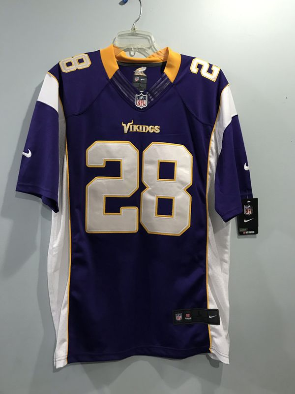 Vikings Peterson Jersey size adult L