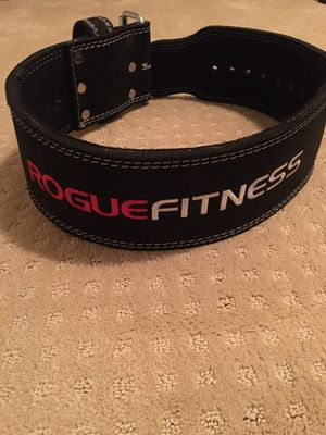Rogue Fitness Power Lifting belt - size medium for Sale in San Jose, CA
